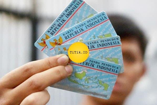 Ukuran KTP Indonesia