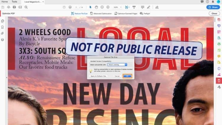 Adobe Acrobat Pro Proses Kompres Pdf