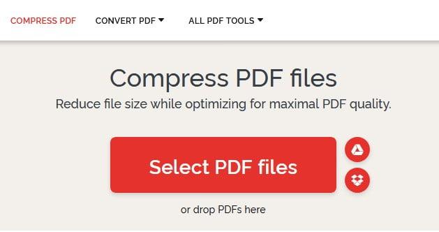 I Love PDF Compress Pdf