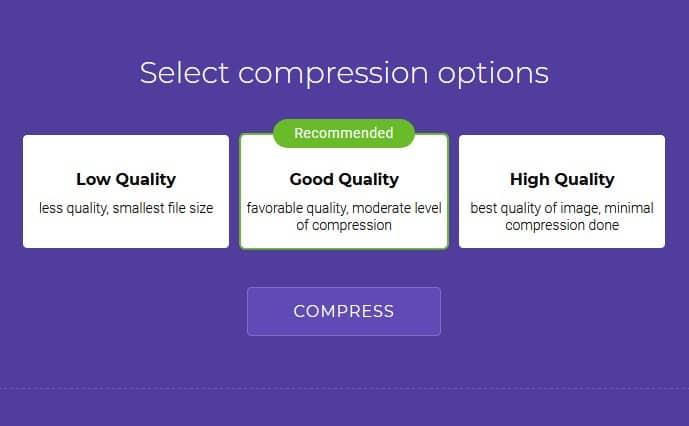 Soda PDF Pilih Kualitas Kompres