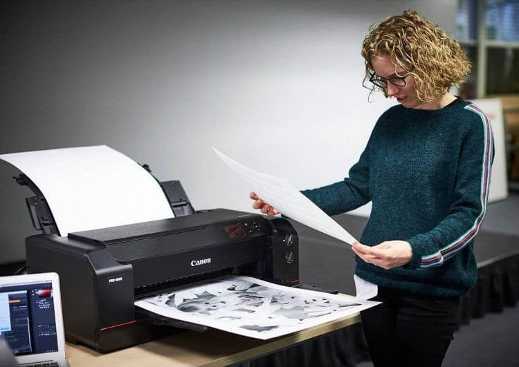 Ketika Proses Mencetak Dokumen