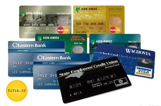 Ukuran Standar Kartu ATM Internasional