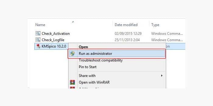 Aktivasi Windows 8 dengan KMSPico