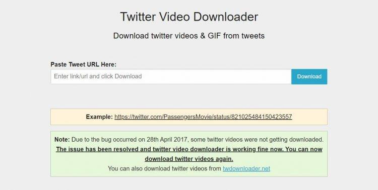 Free Video Downloader for Twitter