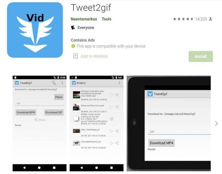 Tweet2gif