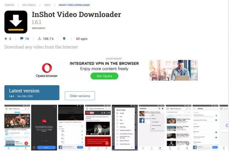 Video Downloader for Facebook by InShot Inc