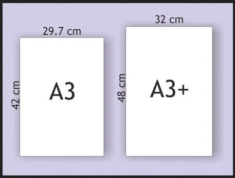 Ukuran Kertas A3 Plus