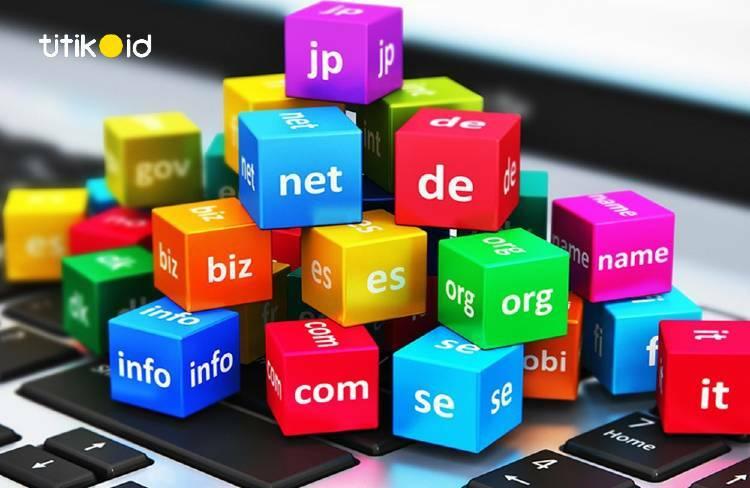 Ekstensi domain untuk jenis situs web
