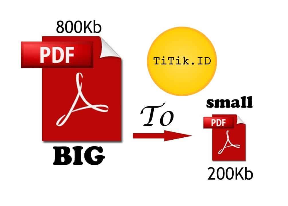 Kompres PDF – Cara Mengecilkan Ukuran File PDF