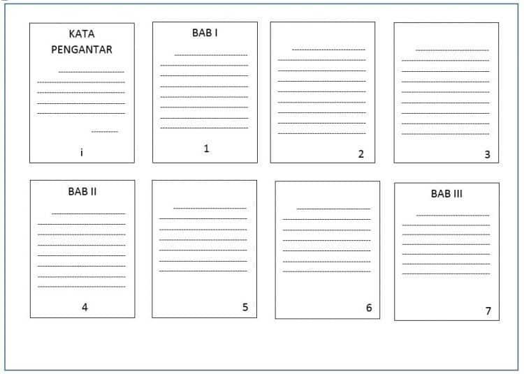 Membuat Halaman Berbeda dalam Satu Dokumen