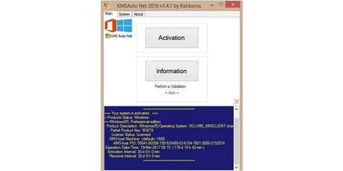 Aktivasi Windows 10 dengan KMSAuto Net