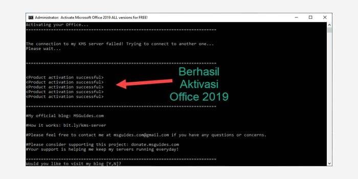 Cara Aktivasi Office 2019 Tanpa Software