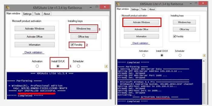 Aktivasi Windows 8 Pakai KMSAuto Lite