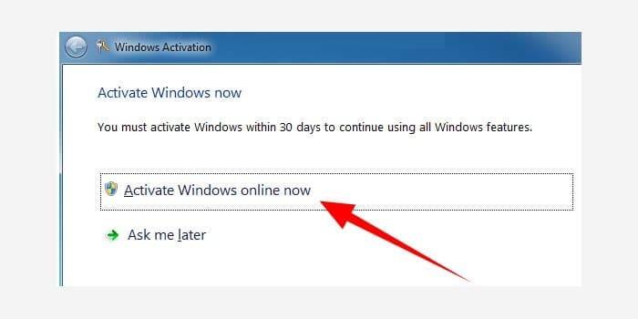 Cara Aktivasi Windows 7 Permanen Tanpa Software