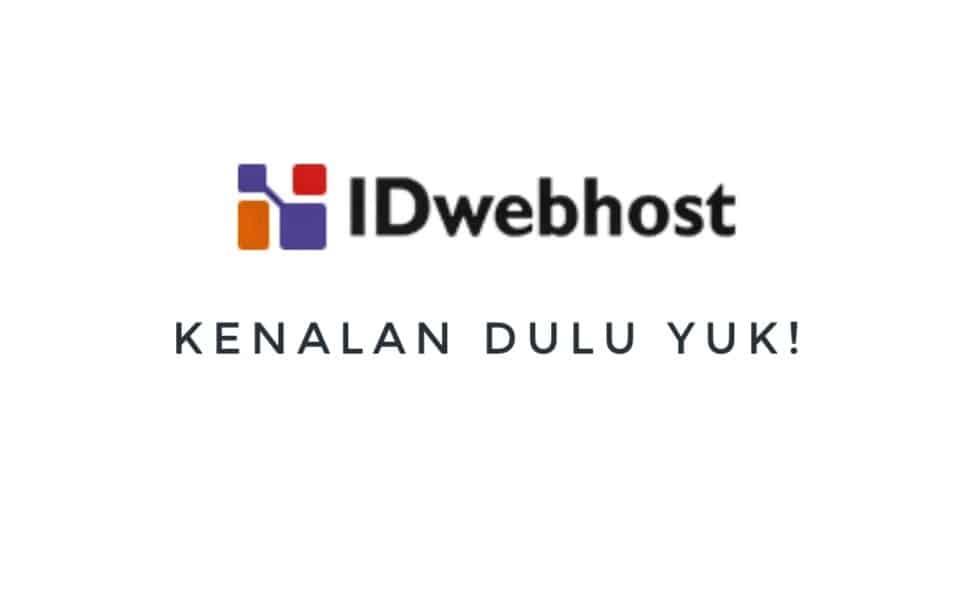 Sekilas IDwebhost