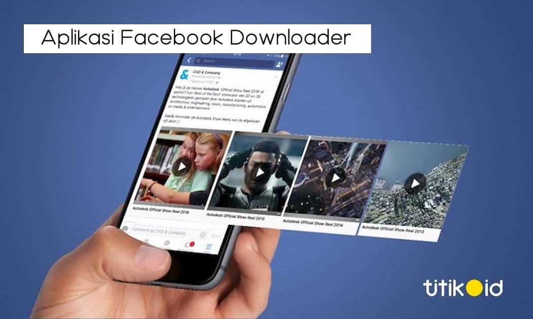 Aplikasi Facebook Downloader
