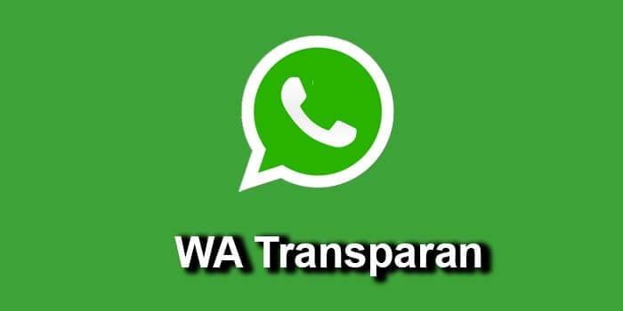 WA Transparan