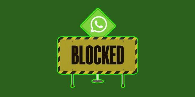 WhatsApp diblokir permanen