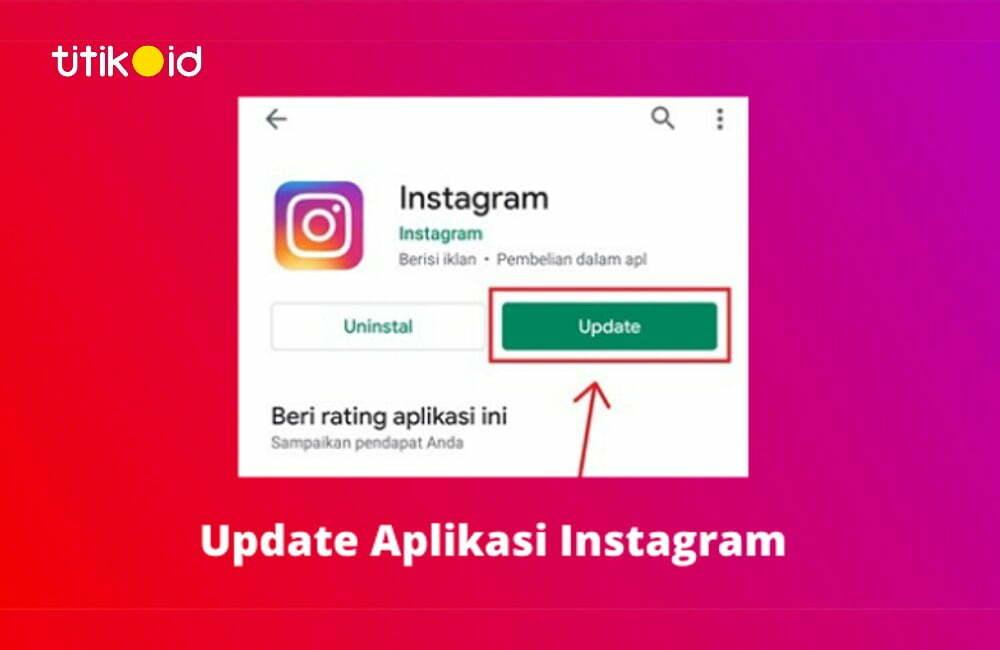 Cara Update Aplikasi Instagram
